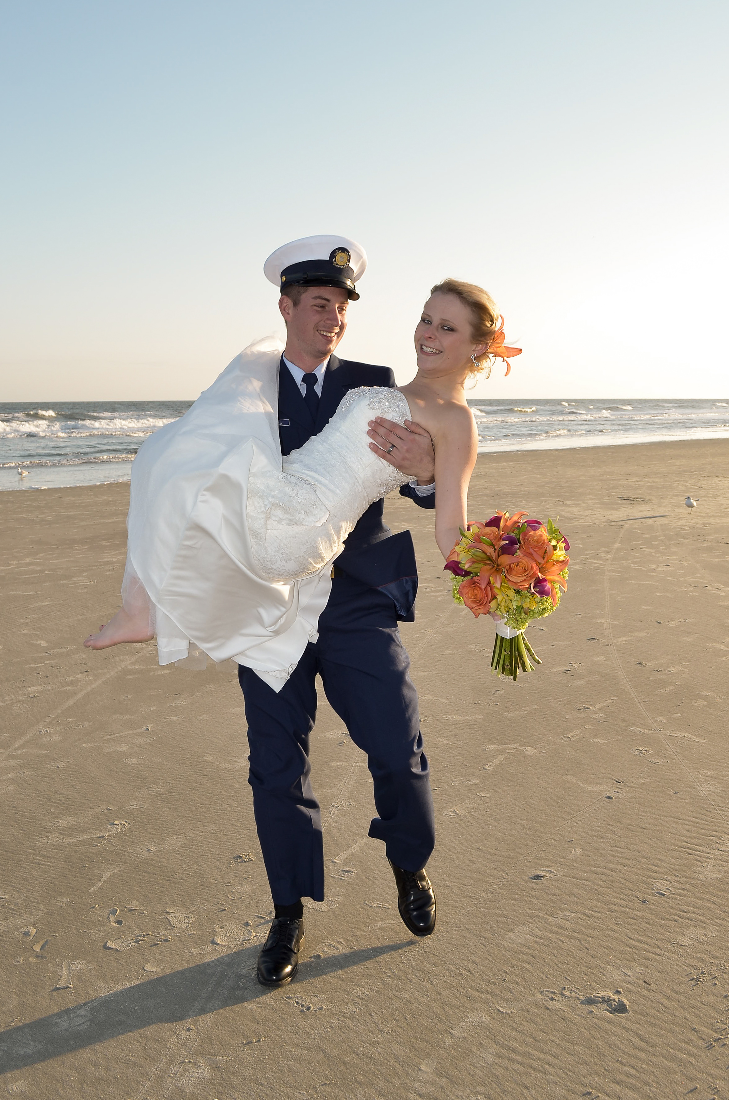 Groom with bride.