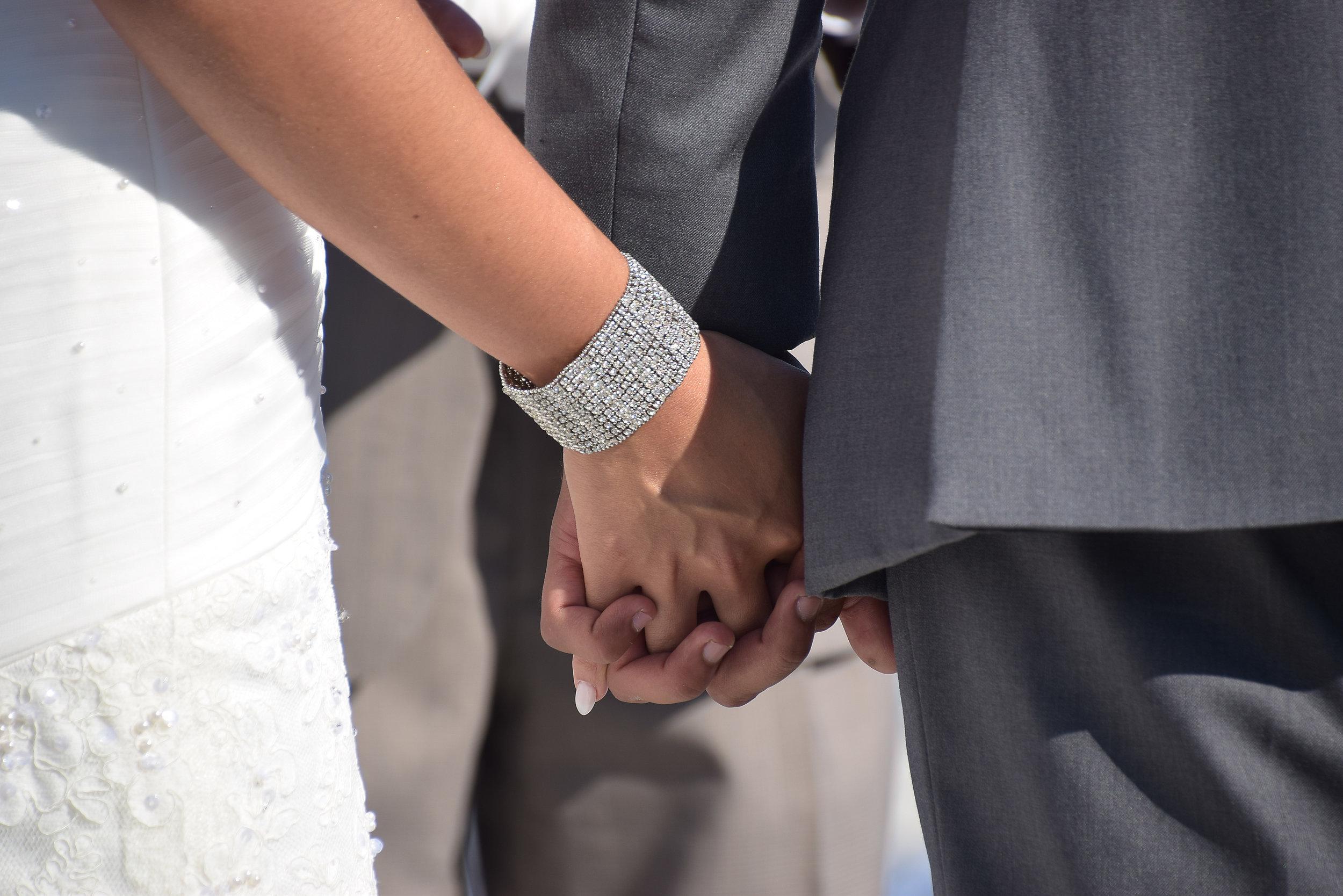 Wedding Hands.