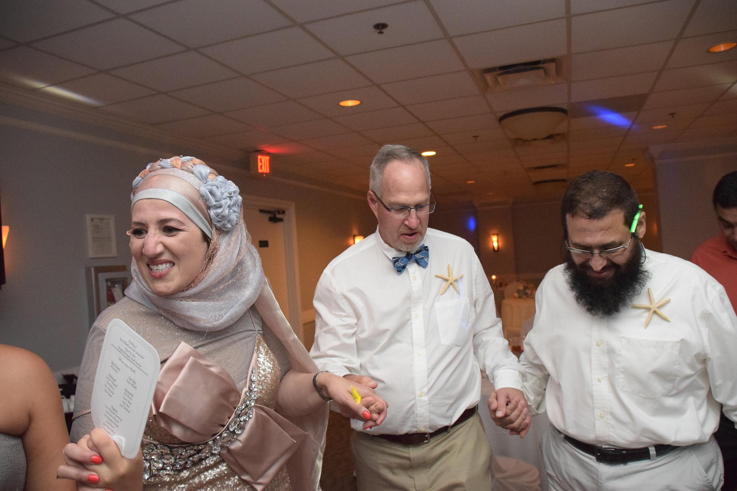 Dancing at reception.