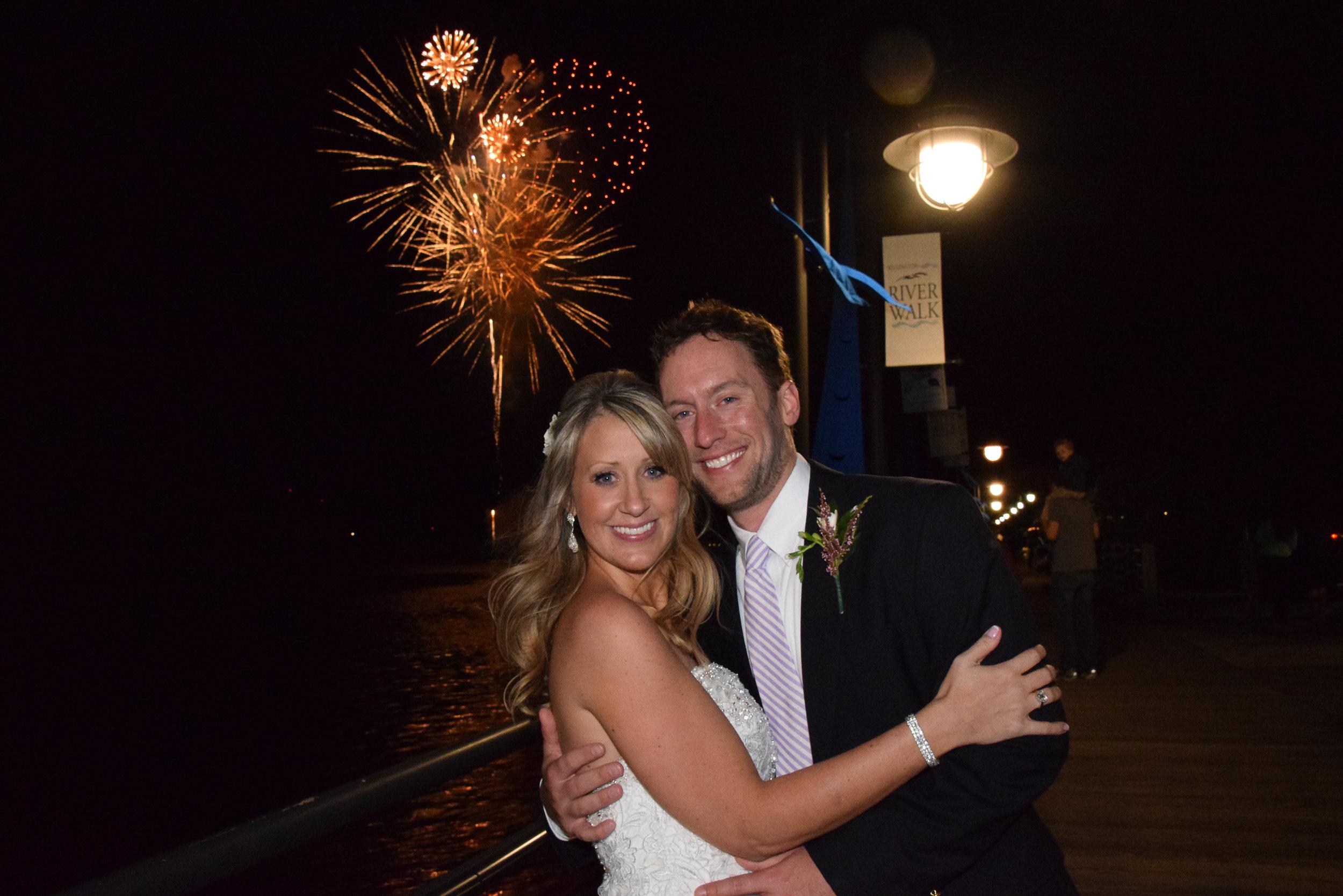 Wedding Fireworks.