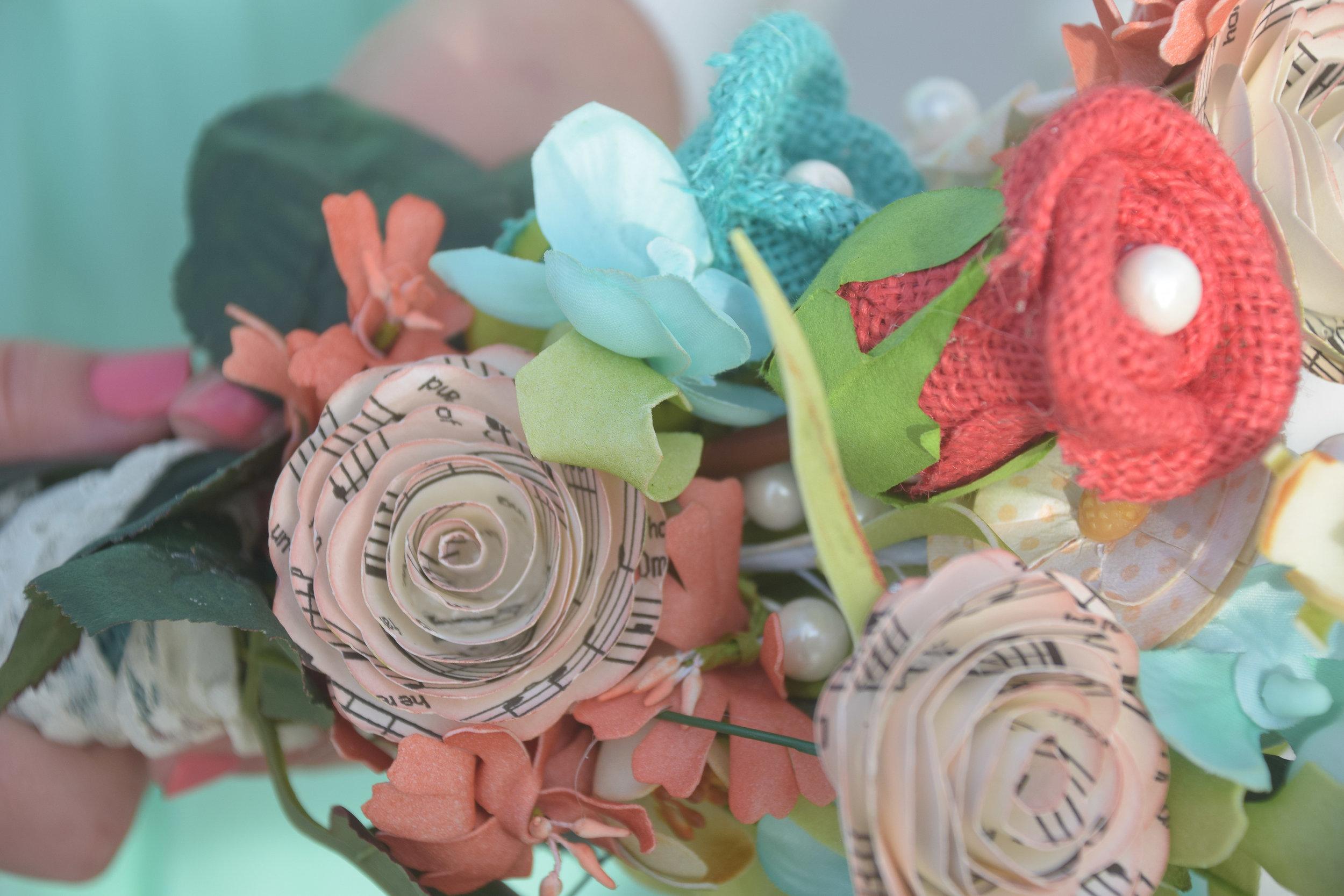 Bouquet closeup.