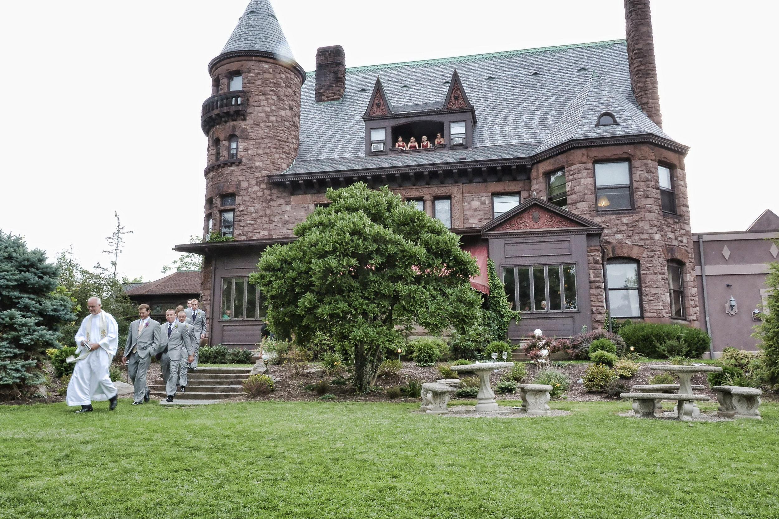 Belhurst Castle wedding.