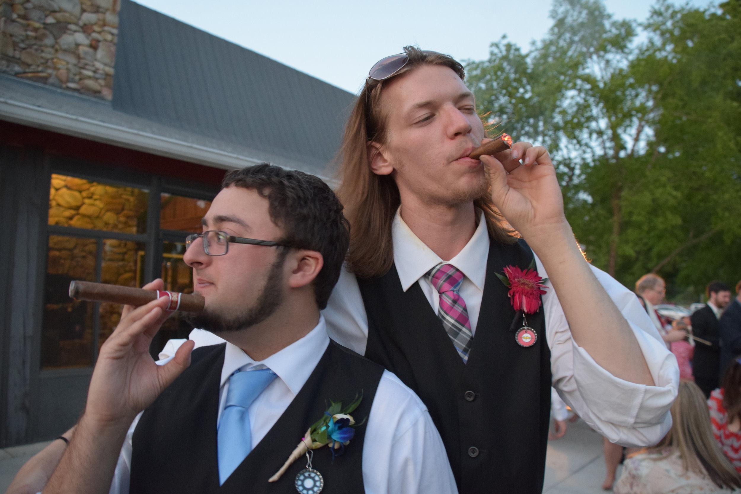 Cigars.