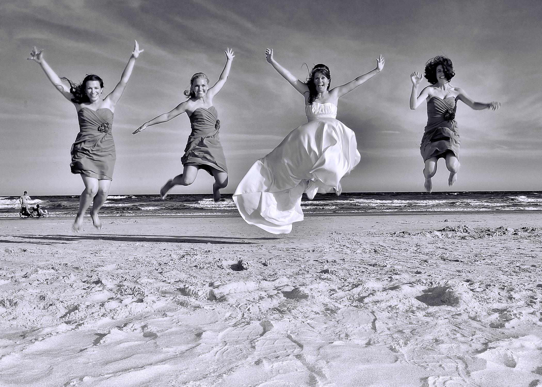 Leap for joy.