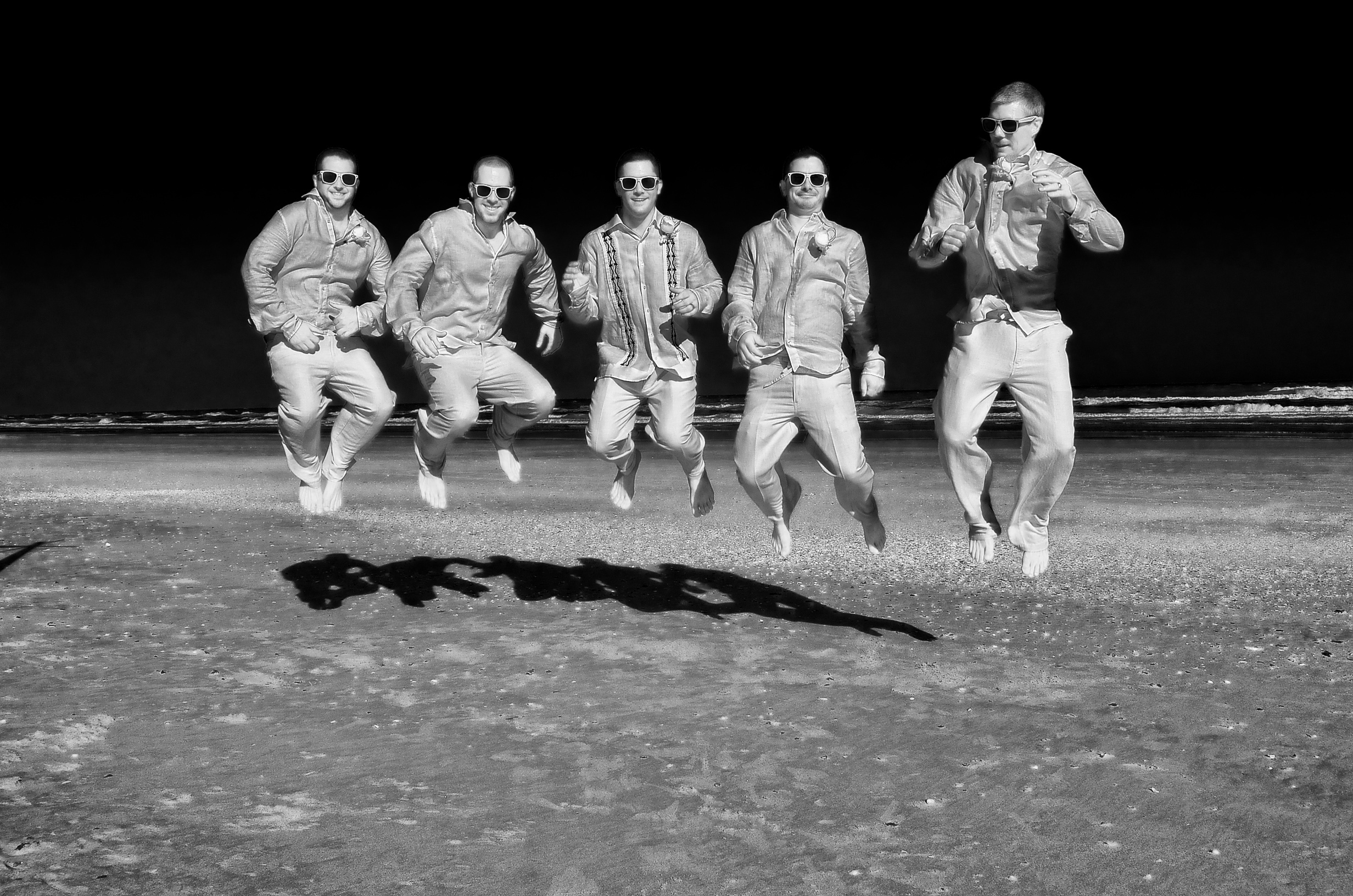 Grooms on the moon.