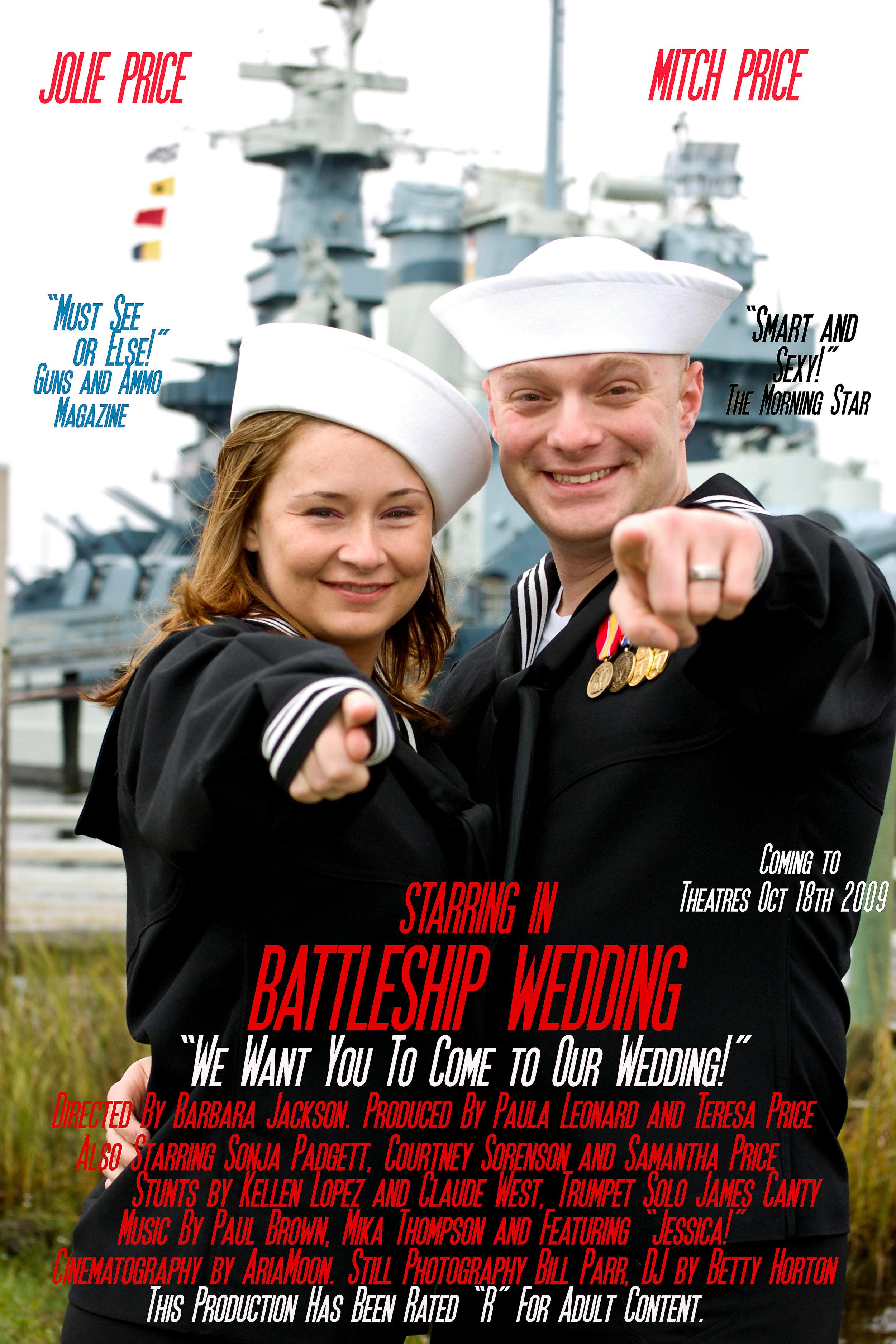 Wedding Movie Poster. Battleship.