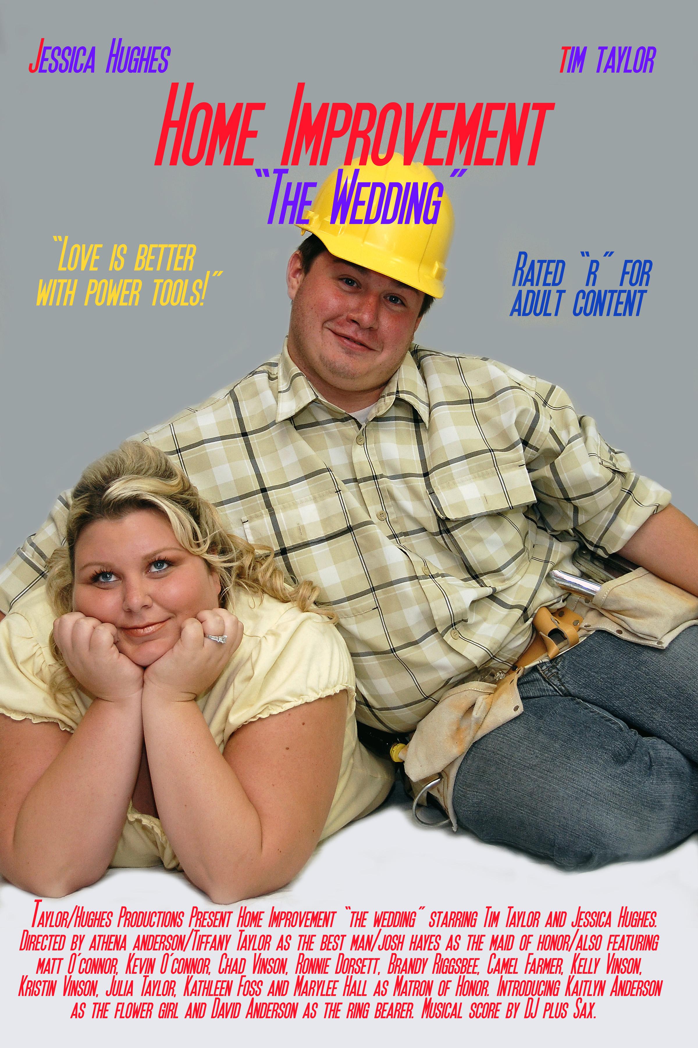 Wedding TV Poster. Home Improvement.