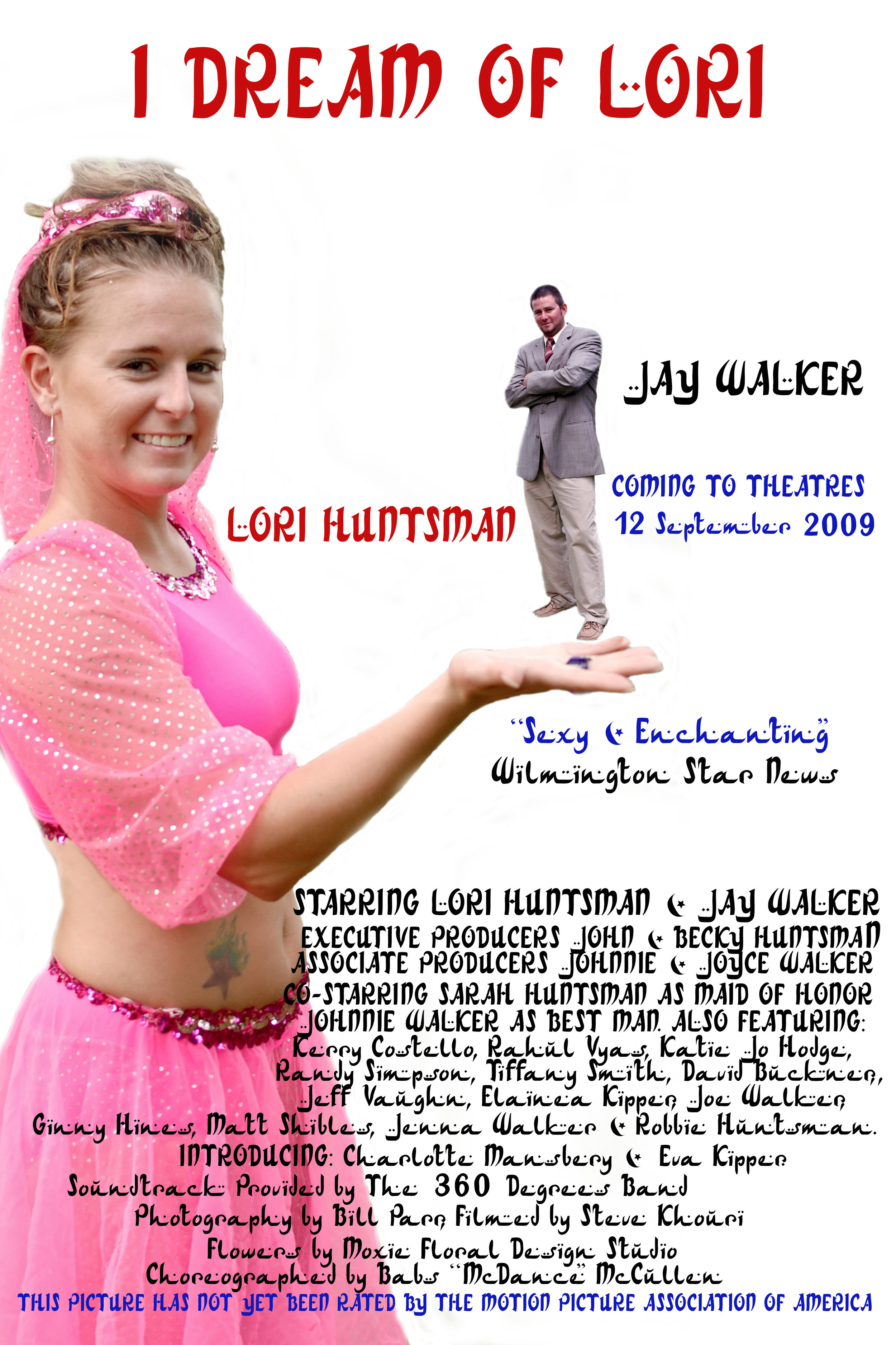Wedding TV Poster. I Dream of Lori.