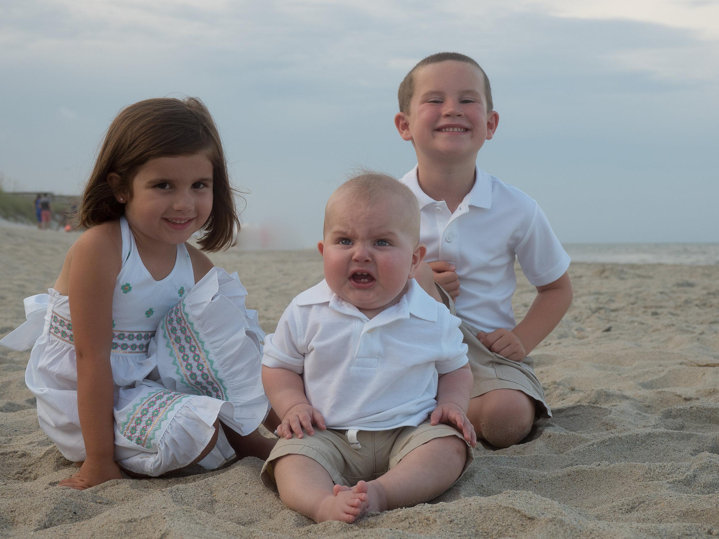 - I love this kid. What a great face! Carolina Beach, NC.