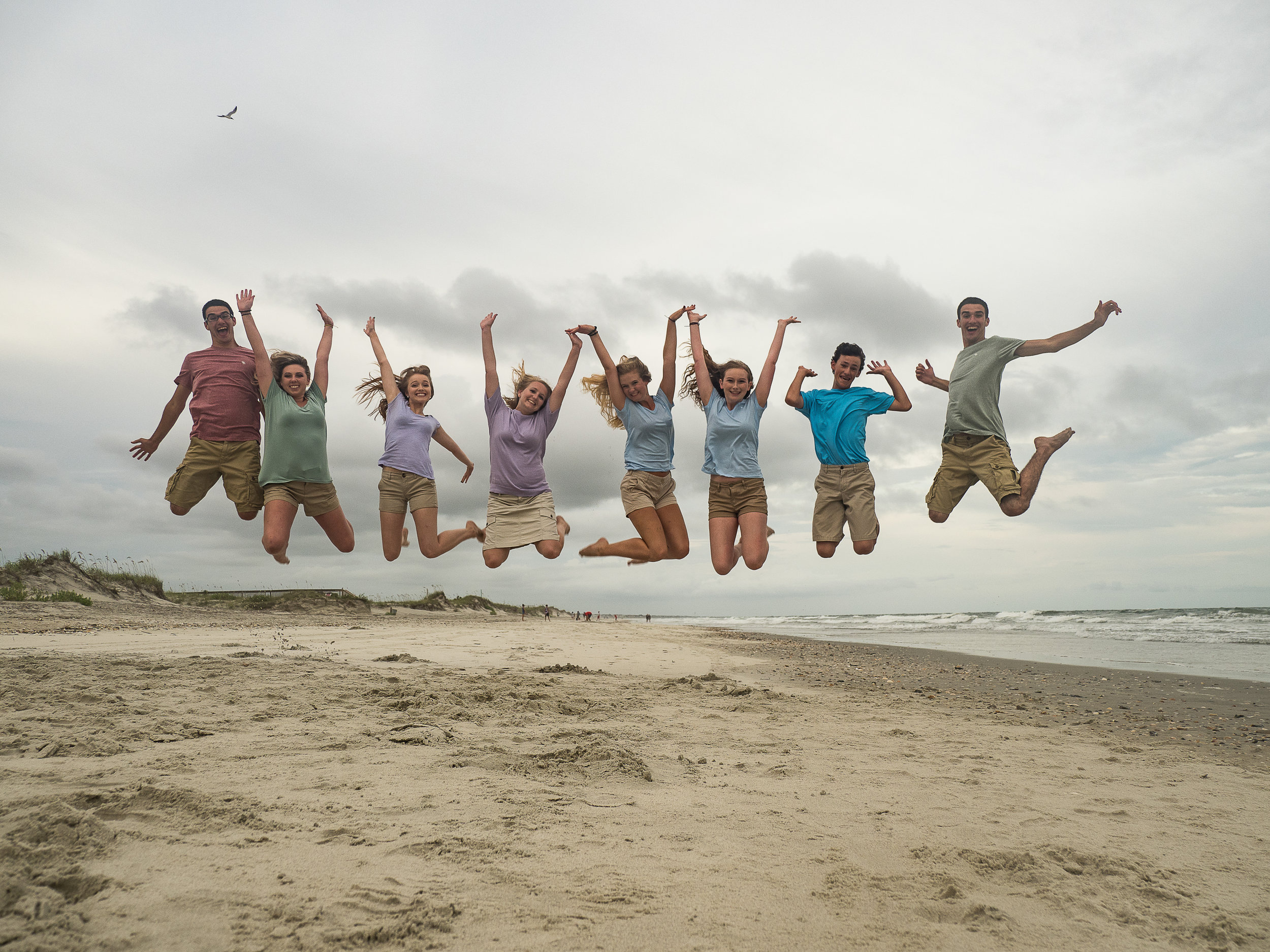 - Big jump shot. Did this in two takes. Lot's of fun! Holden Beach, NC.