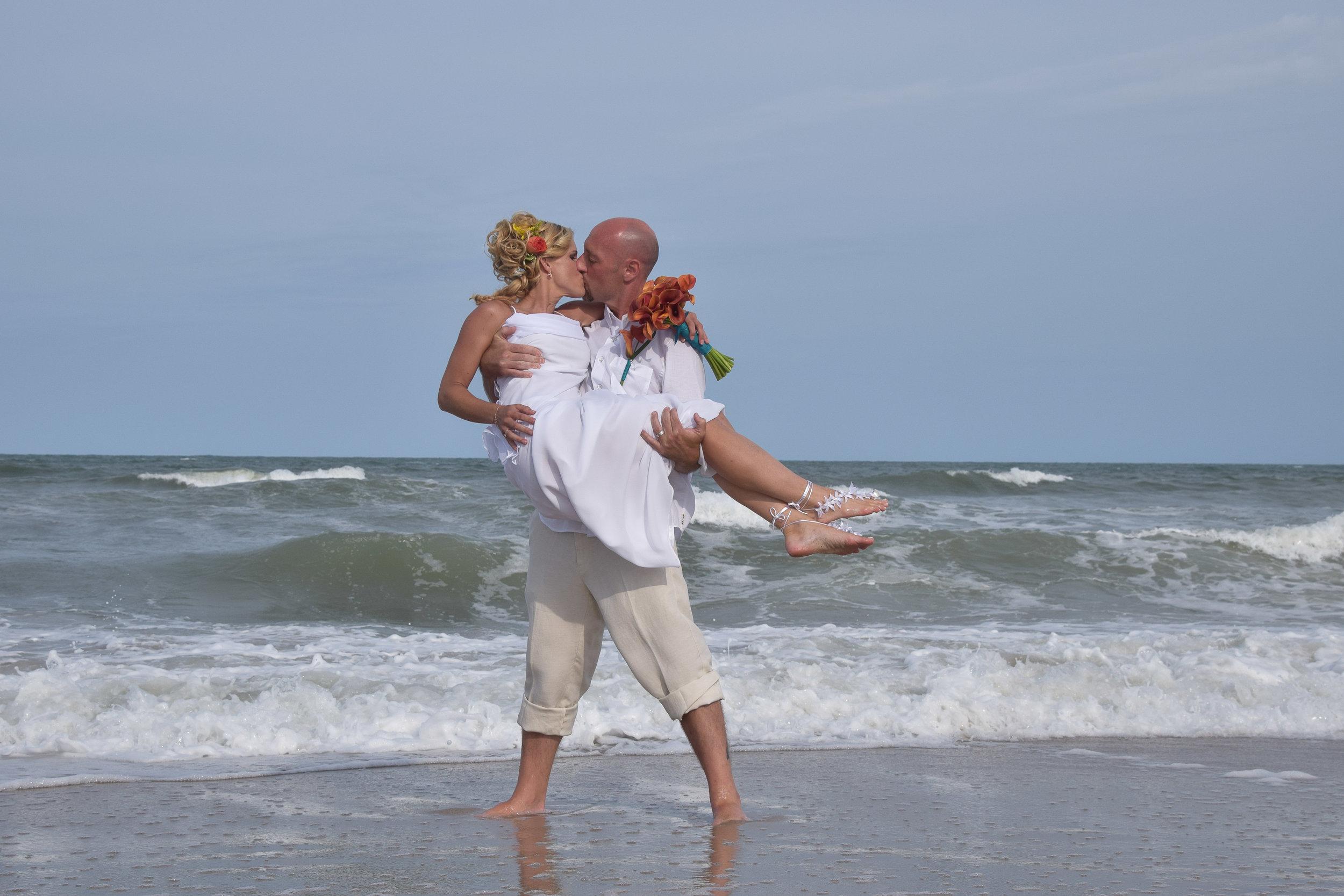 - Beach Wedding Portfolio: Click on image.