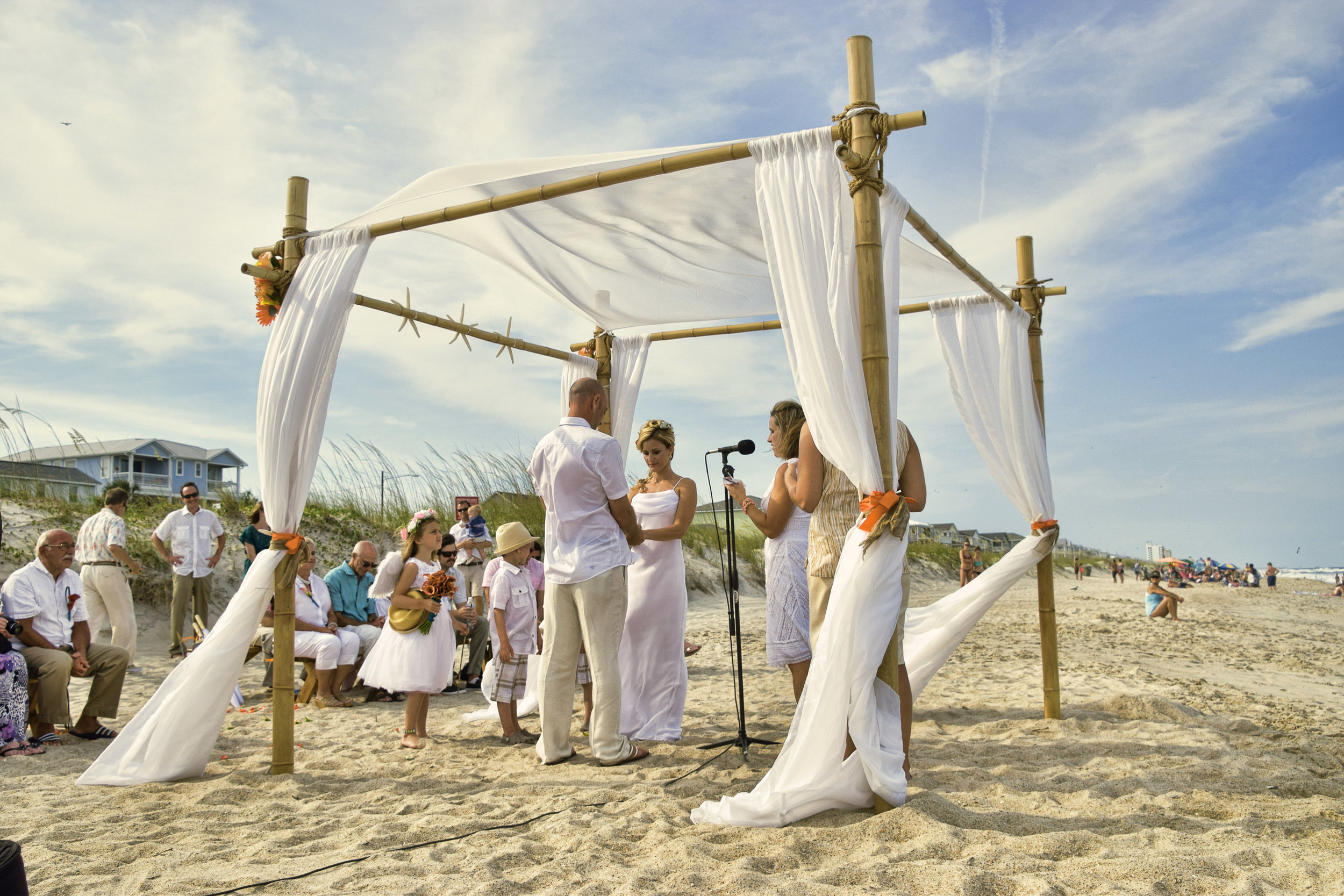- Kure Beach Weddings. Click on image to open.