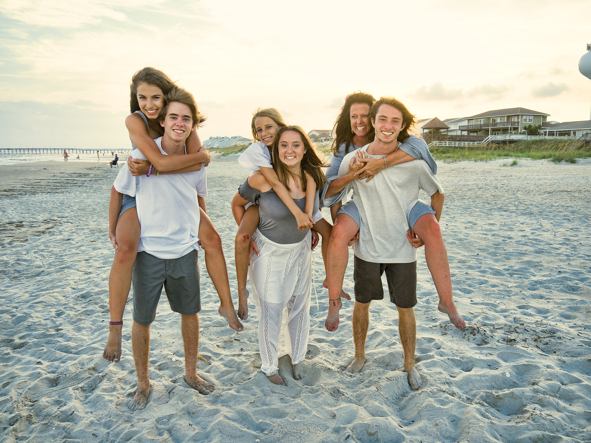 - Shot of the kids on Ocean Isle Beach, NC. Billy Beach Photography.