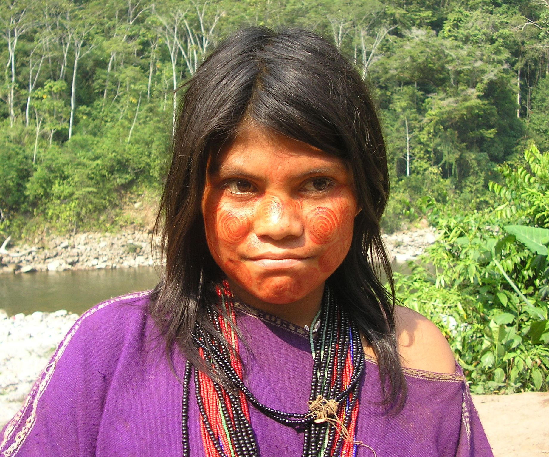Ashaninka woman Dilwyn Jenkins 2005.jpg