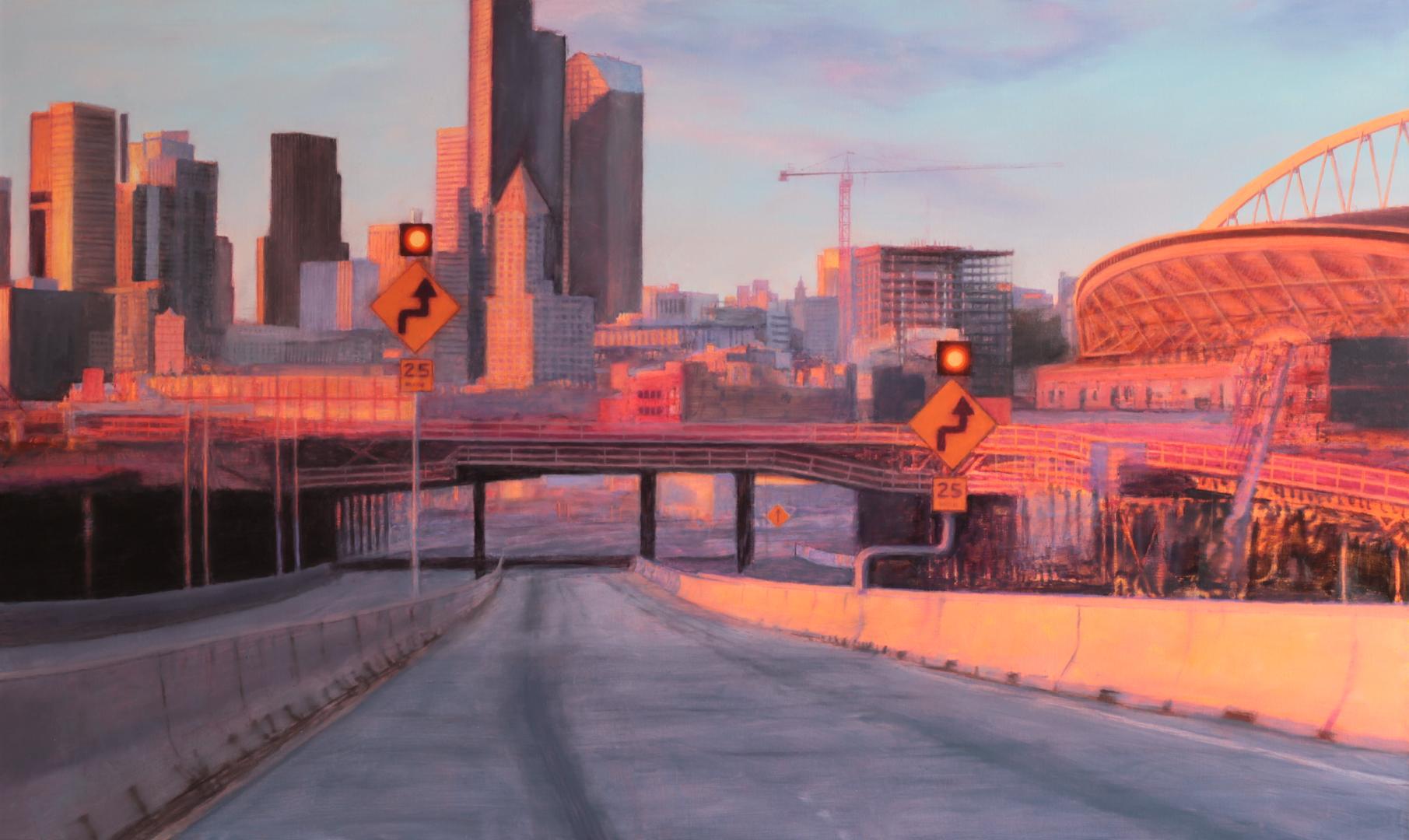 Downtown ( Seattle ), 36 x 60