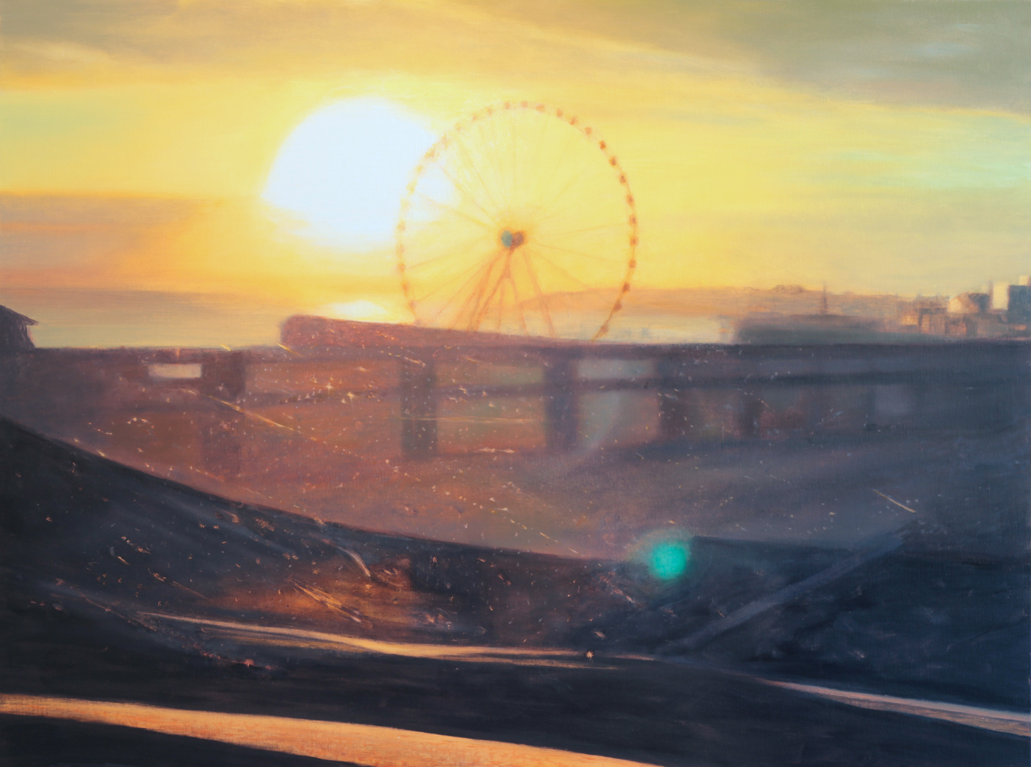 Ferris Wheel, 36 x 48