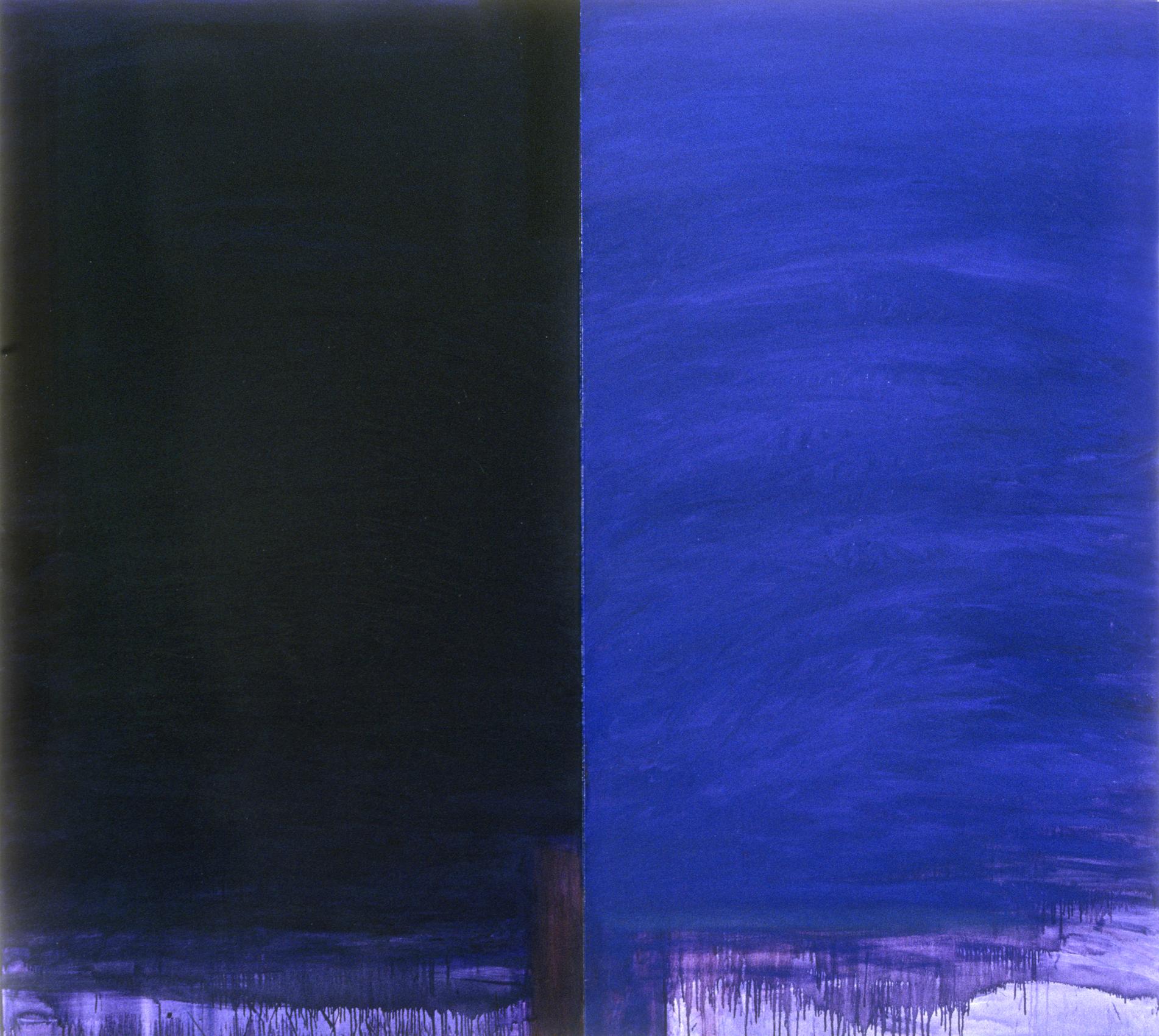 Lyke Wake Dirge, Diptych 78 x 84