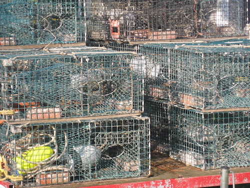 Town-of-Blue-Hill-lobster-traps-at-South-Blue-Hill-Wharf-Ellen-Best.jpg