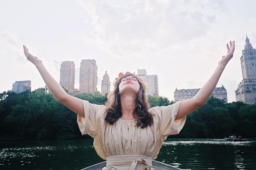 Millie Central Park Lake.jpg