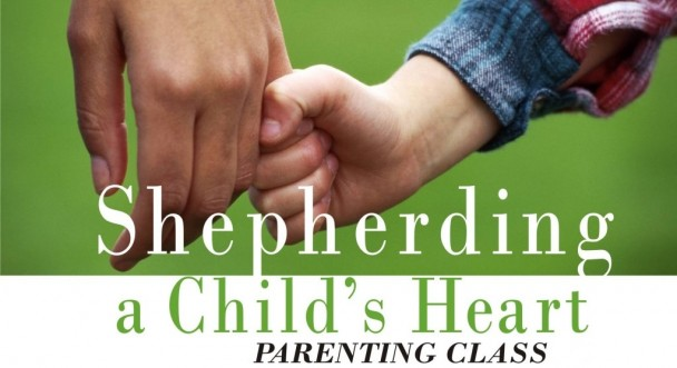 """Shepherding a Child's Heart  is about how to speak to the heart of your child. The things your child does and says flow from the heart. Luke 6:45 puts it this way: """"…out of the overflow of the heart the mouth speaks."""" For parents with children of any age, this insightful book provides perspectives and procedures for shepherding your child's heart into the paths of life.  13 week class with instruction and discussion. Topics include: Behavior, Development, Communication, Discipline, Influences and more."""
