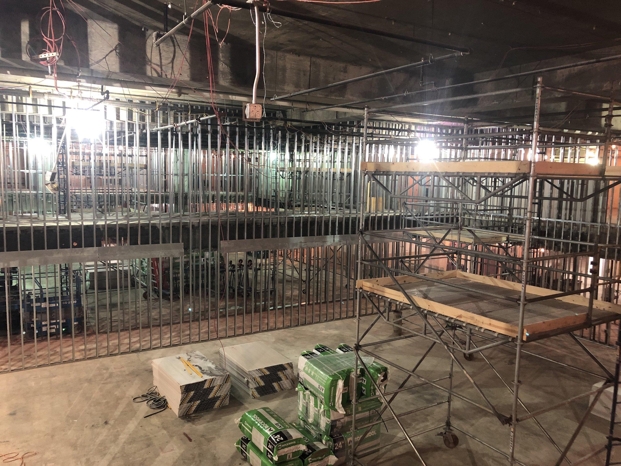 Studio 11A (looking NE) 12-10-18