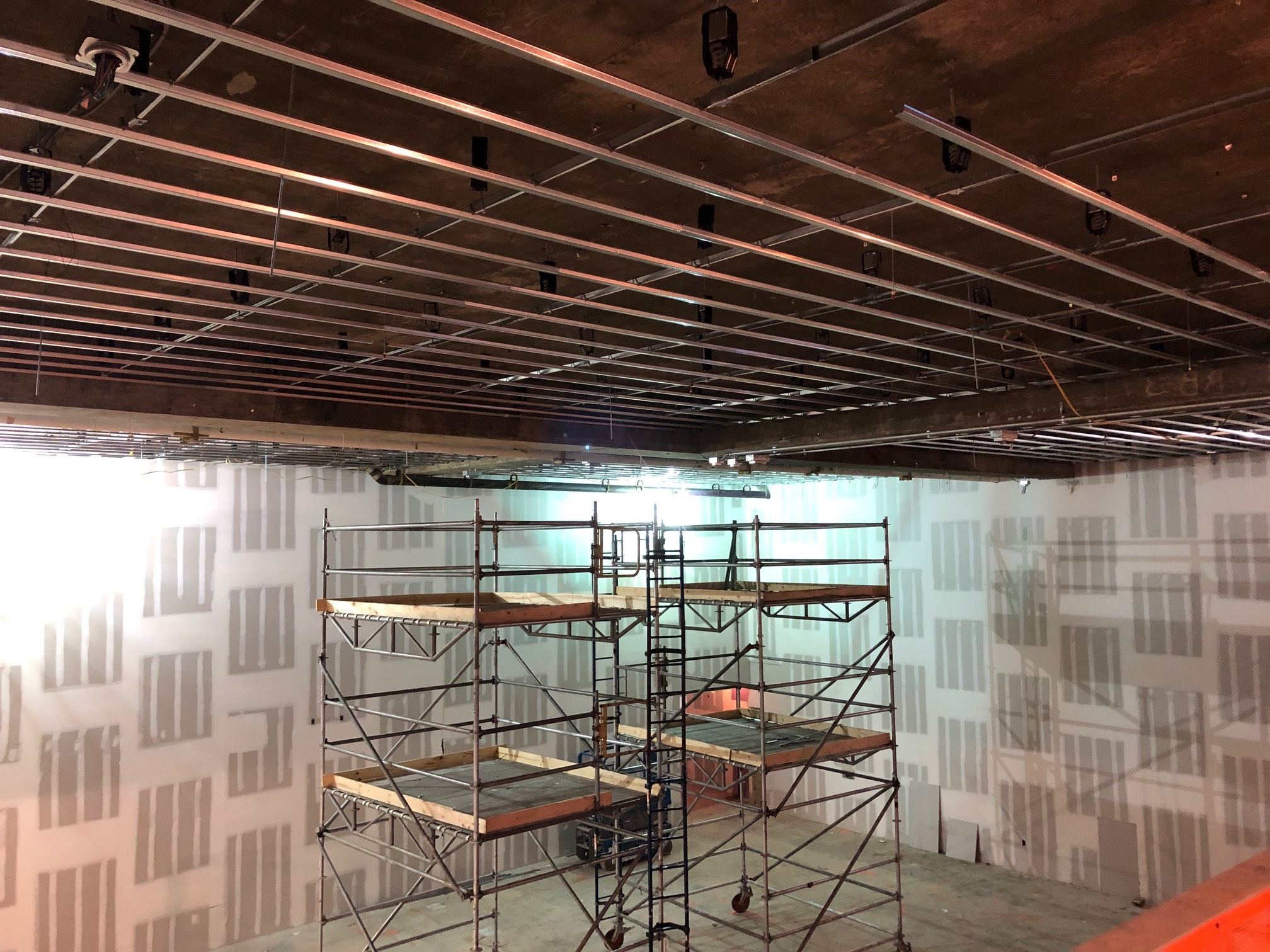 Studio 11A (SW corner from mezzanine) 1-25-19