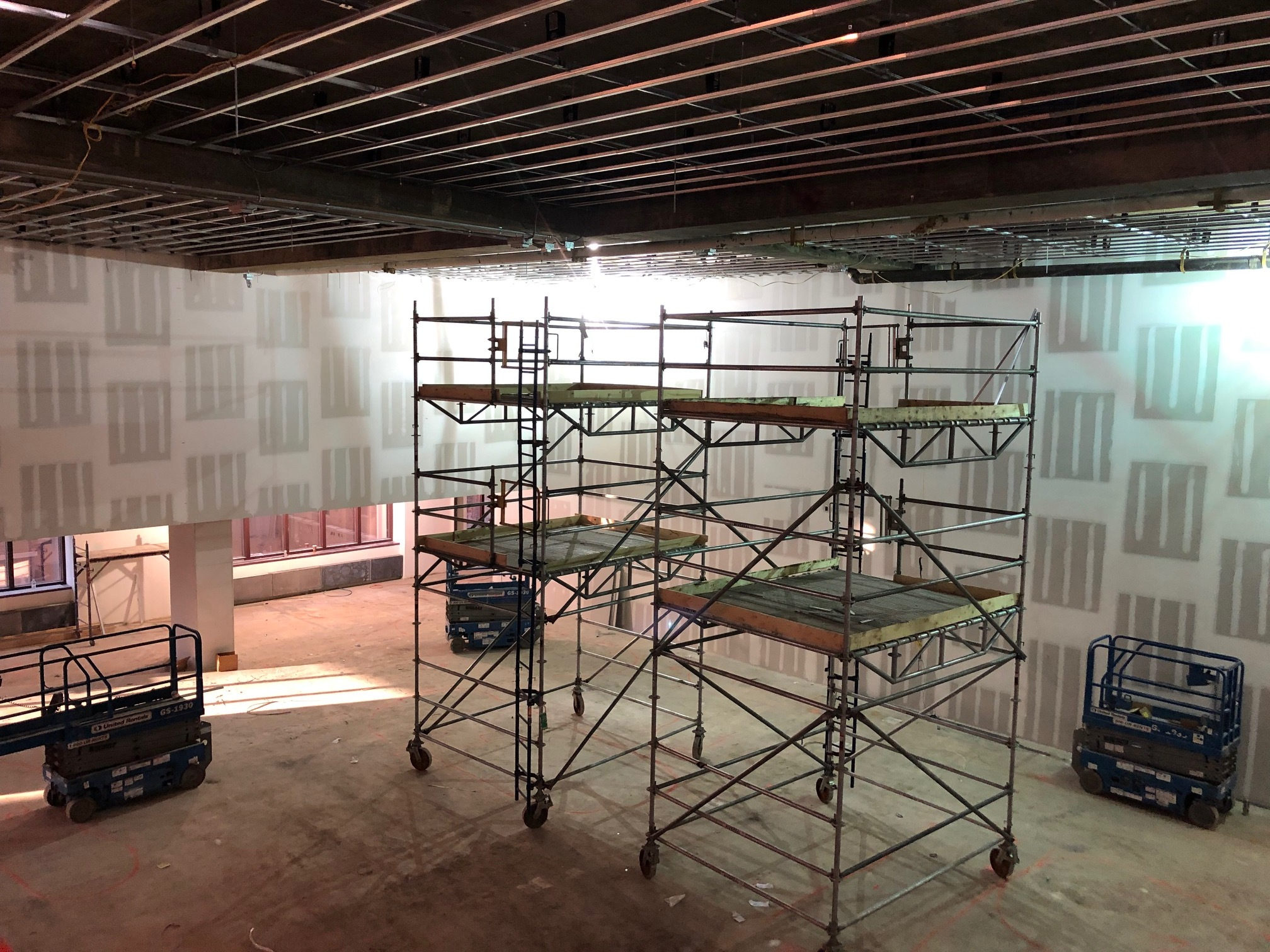 Studio 11A (SE corner from mezz) 1-25-19