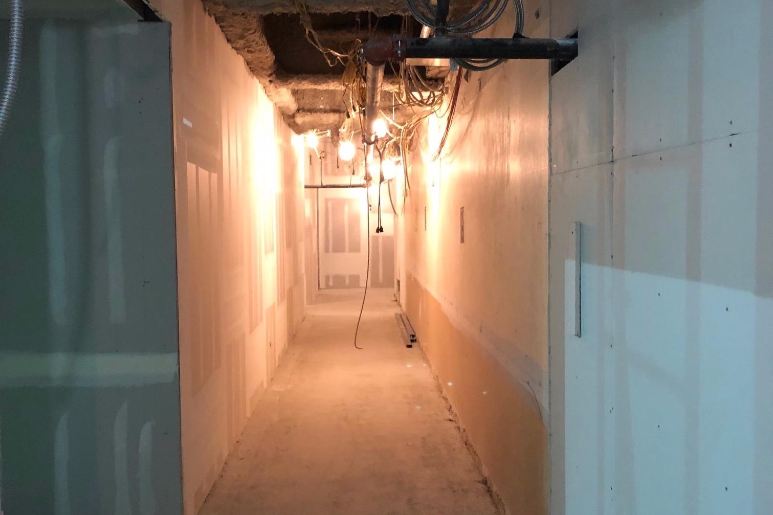 Hallway 11th floor going past Studio 11B