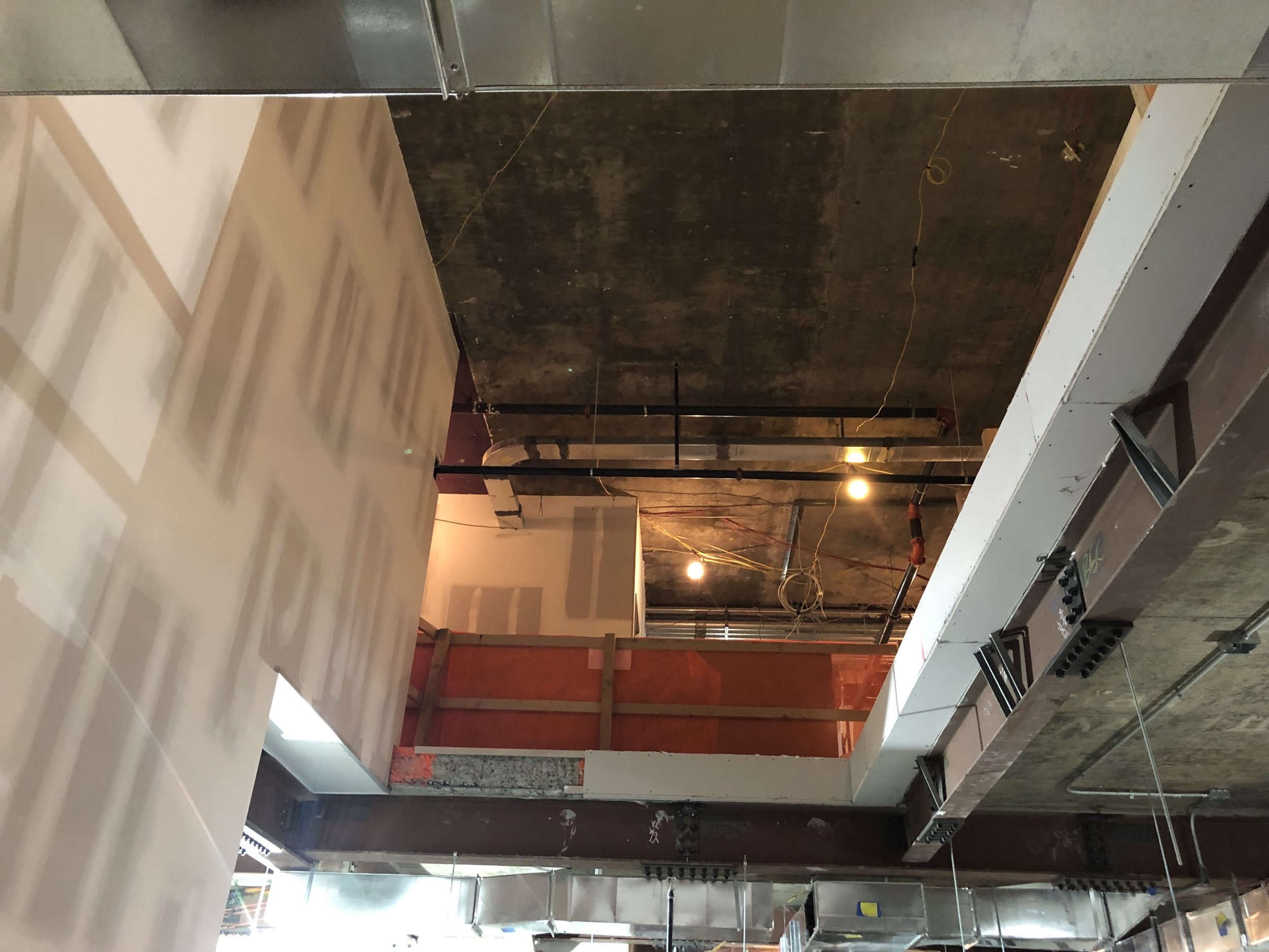 Slab Opening for stairs