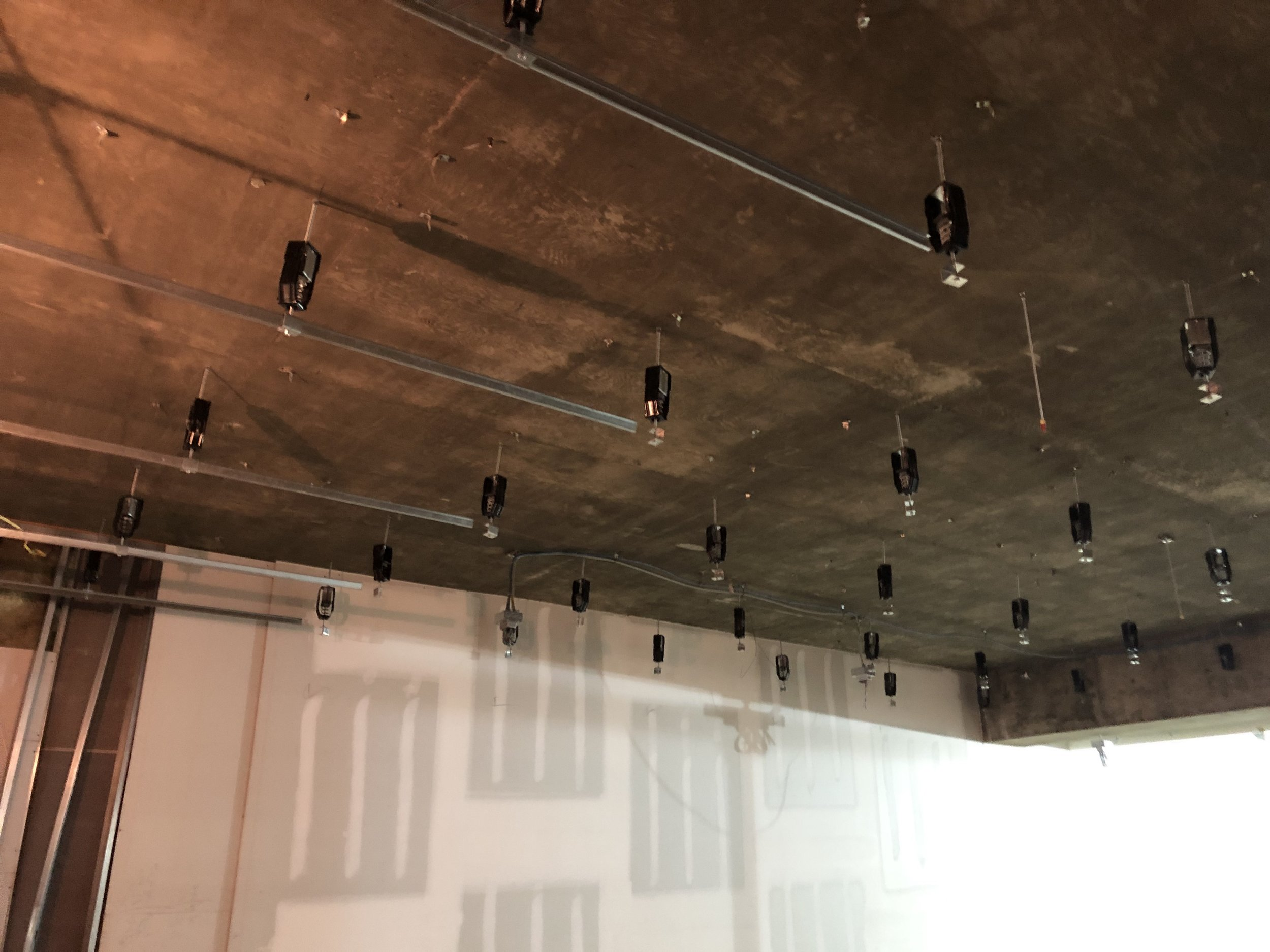Kinetic springs installed in ceiling - 11A