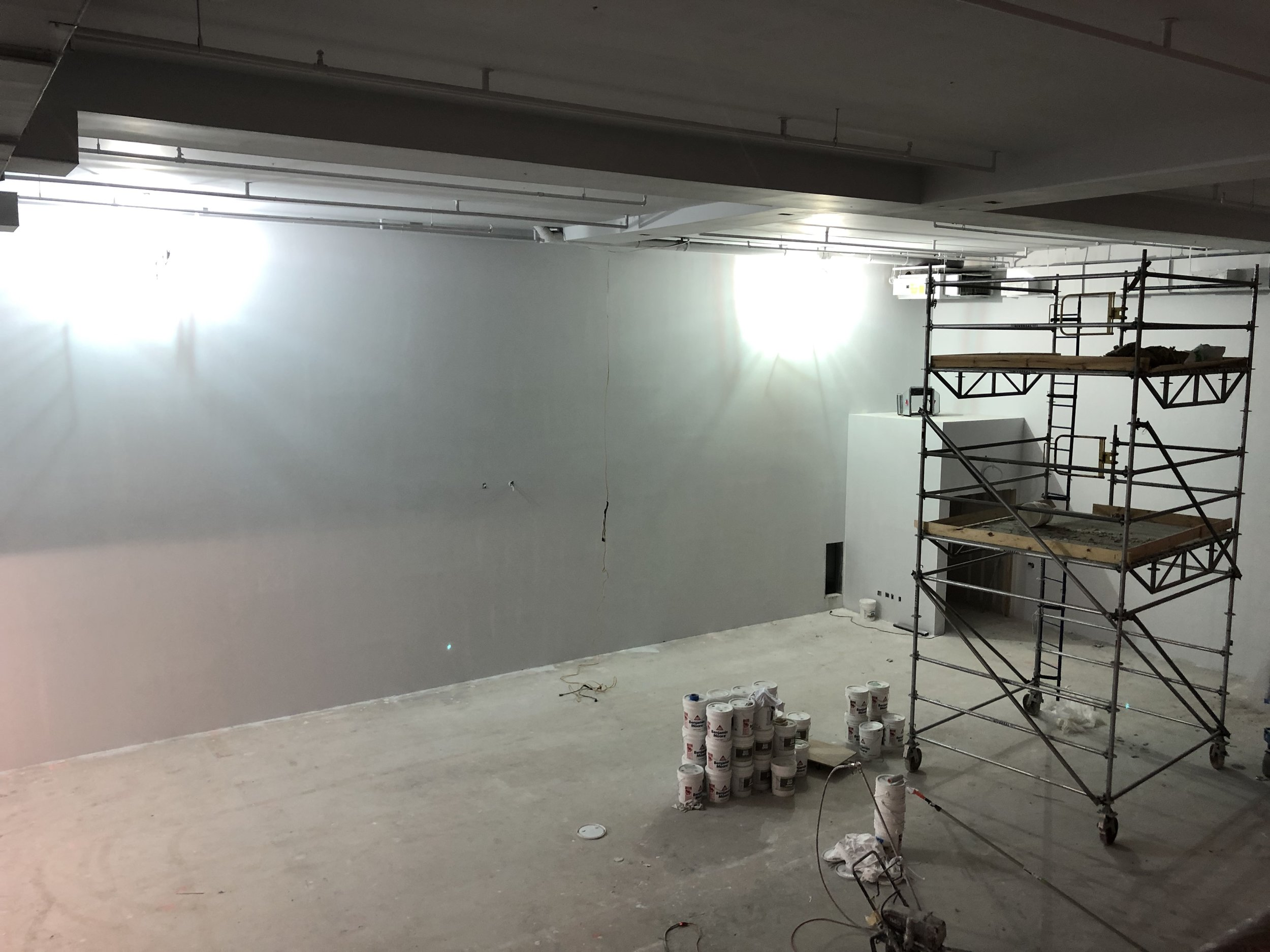 Studio 11A primed for paint