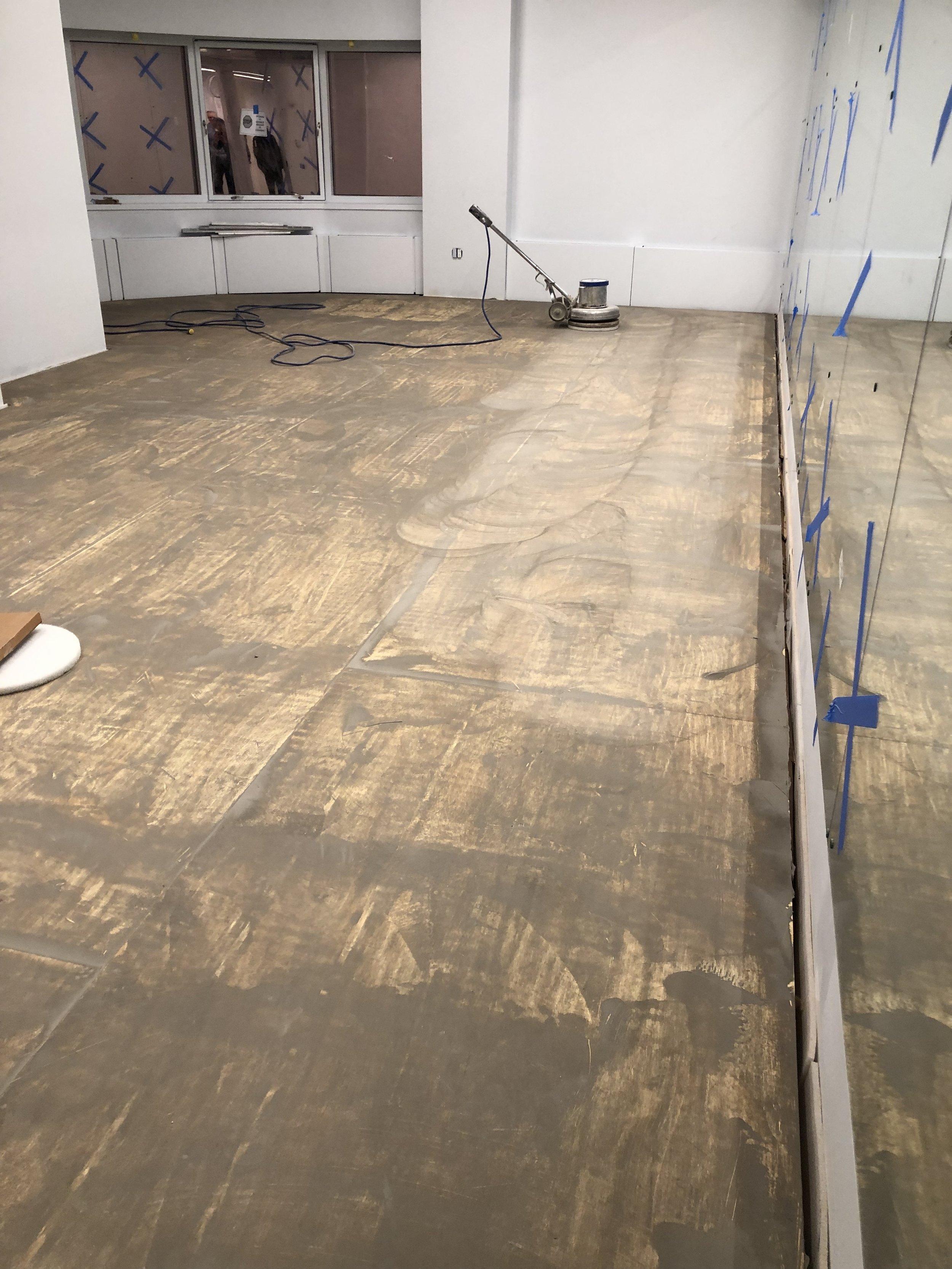 11M sprung floor done