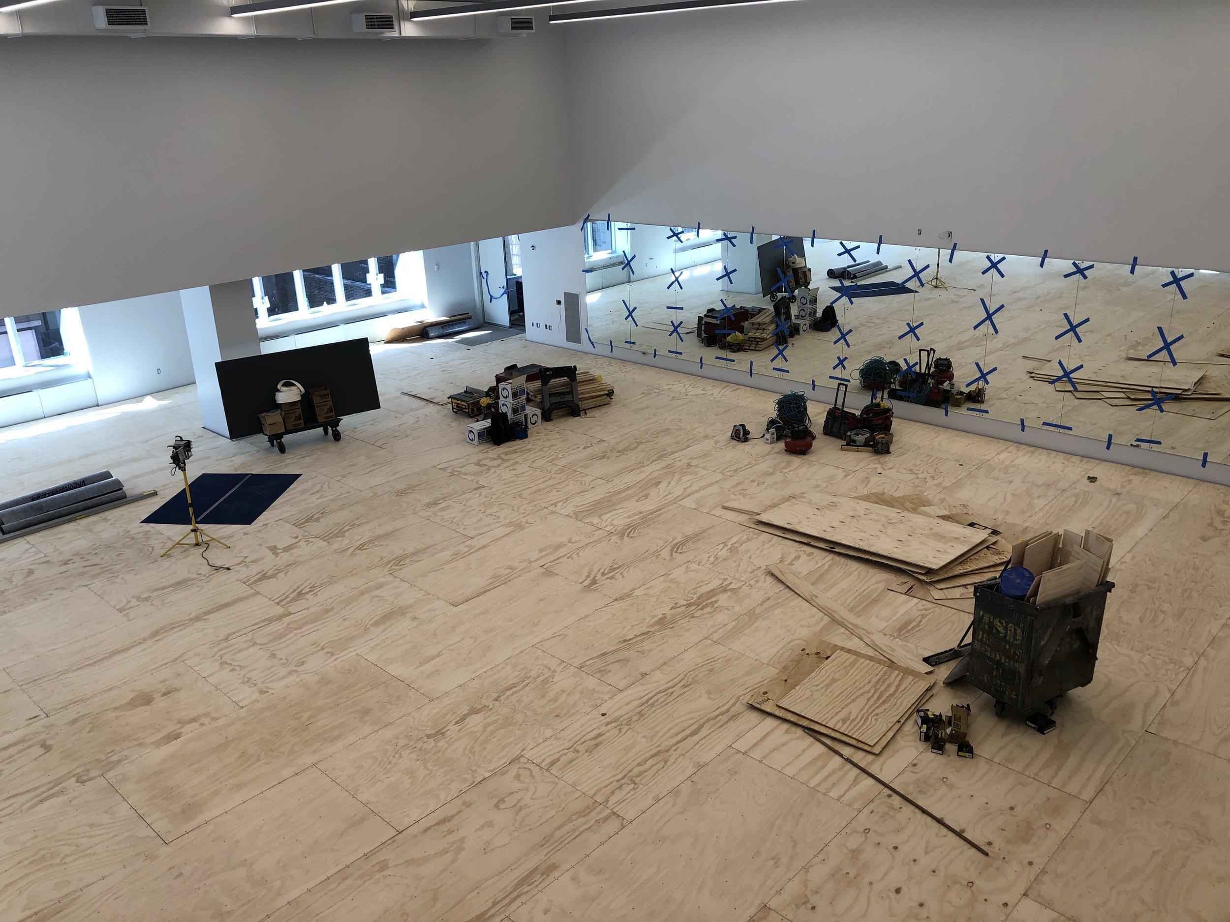 11A sprung floor