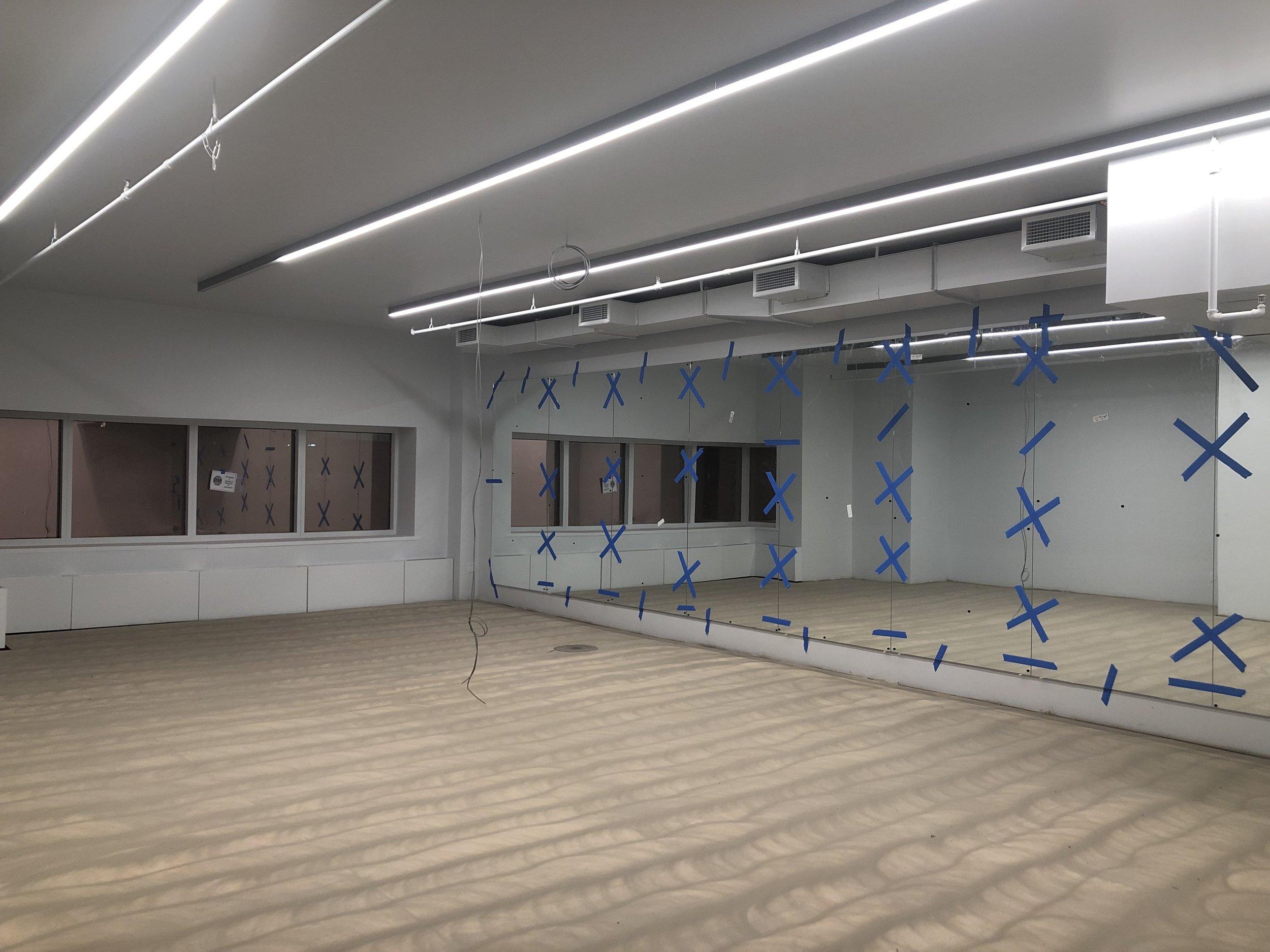 11L sprung floor