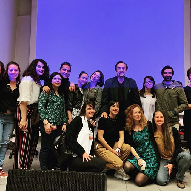 Dr. Z at the University of Palermo, Italy discussing the reach and impact of HIP's programs at HIP Palermo Center! For more information, visit our website at heroicimagination.org, or email us at admin@heroicimagination.org!