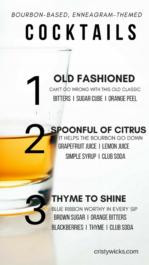 Bourbon Enneagram 1-3