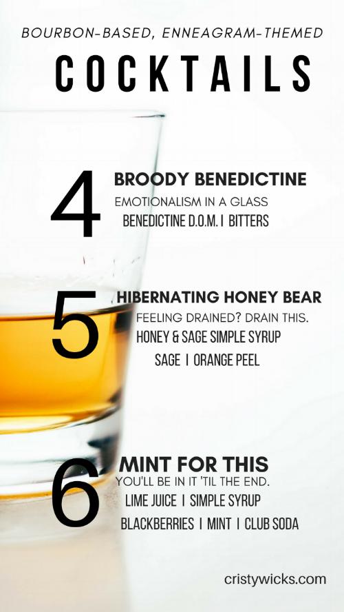 Bourbon Enneagram 4-6