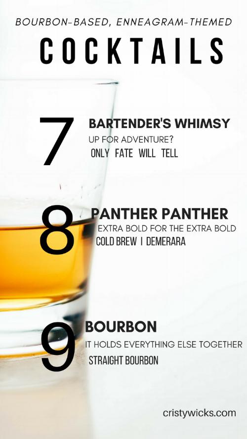 Bourbon Enneagram 7-9