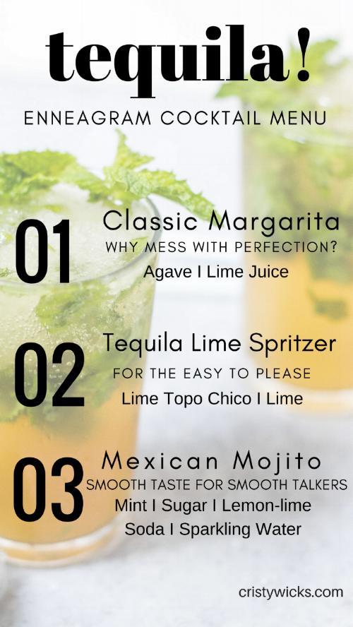 Tequila Enneagram 1-3