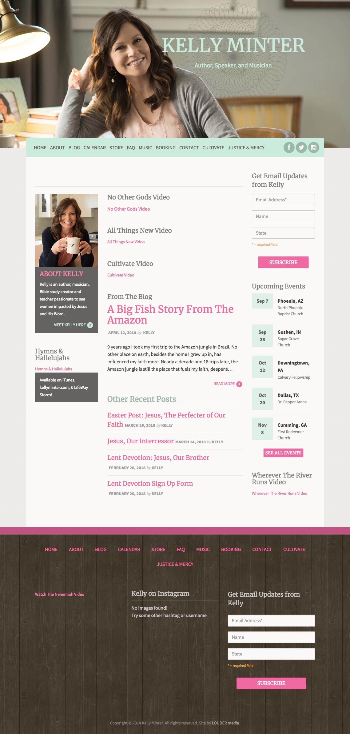 Kelly Minter Old Website