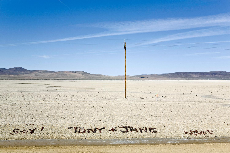 Tony & Jane. Highway 50 NV