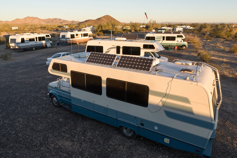 Boondock Camp. Quartzsite, AZ