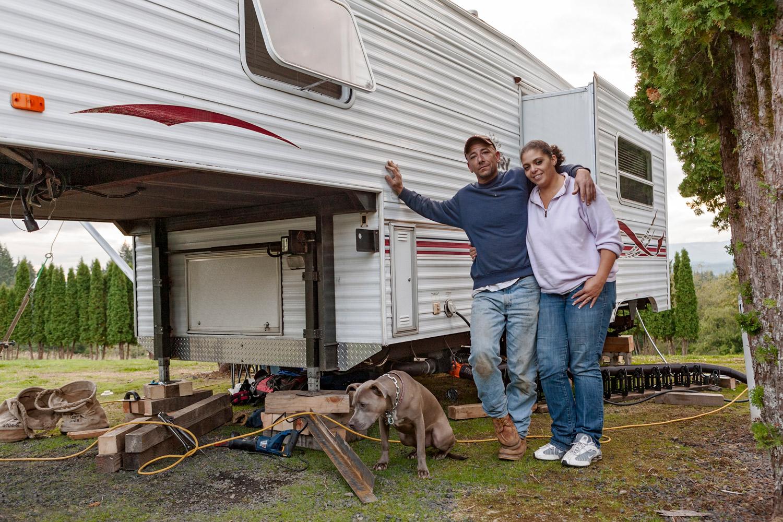Steve & Mairleen lookling for work in Washington state.
