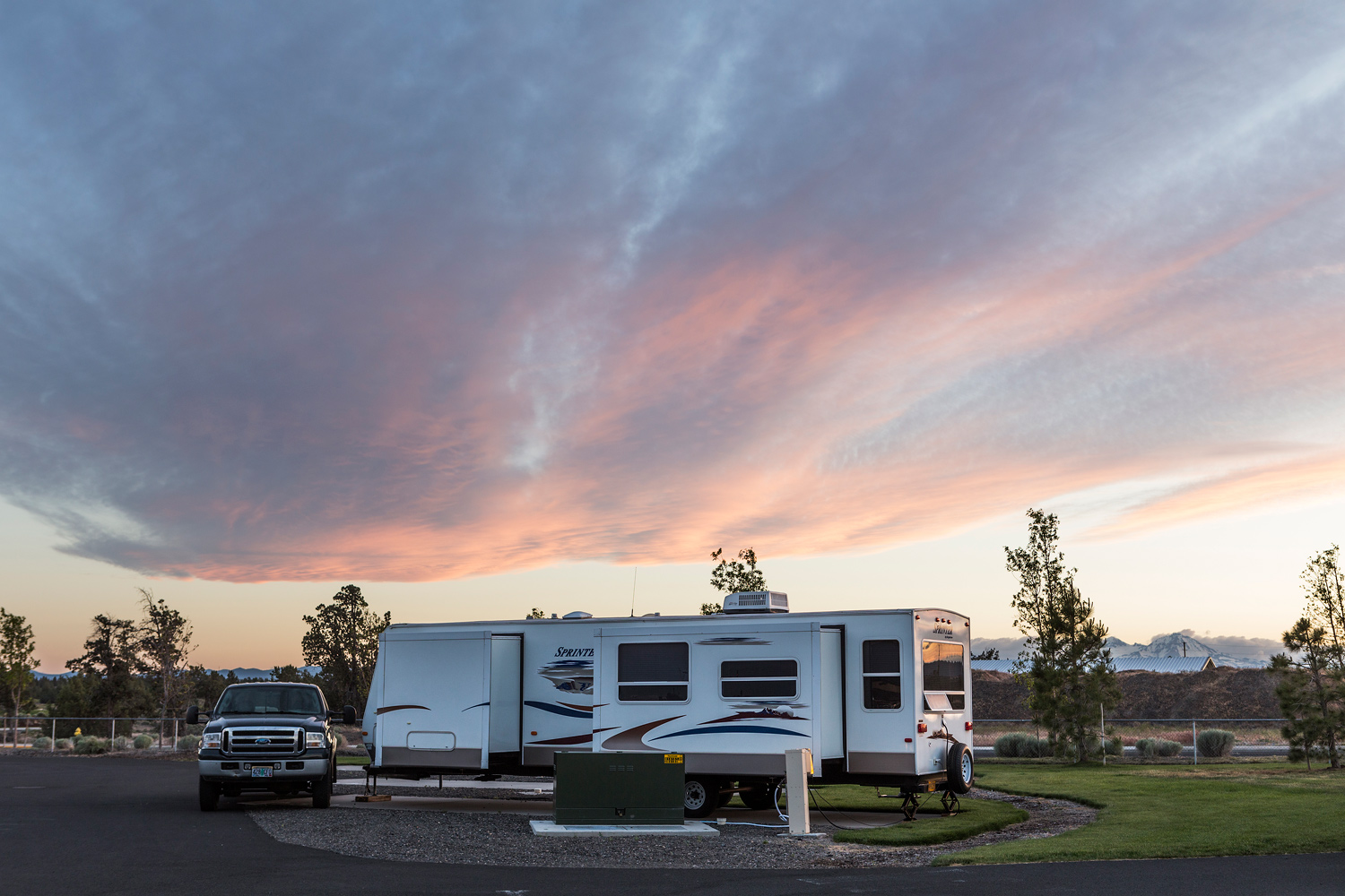 Tygh Valley RV Park. OR.