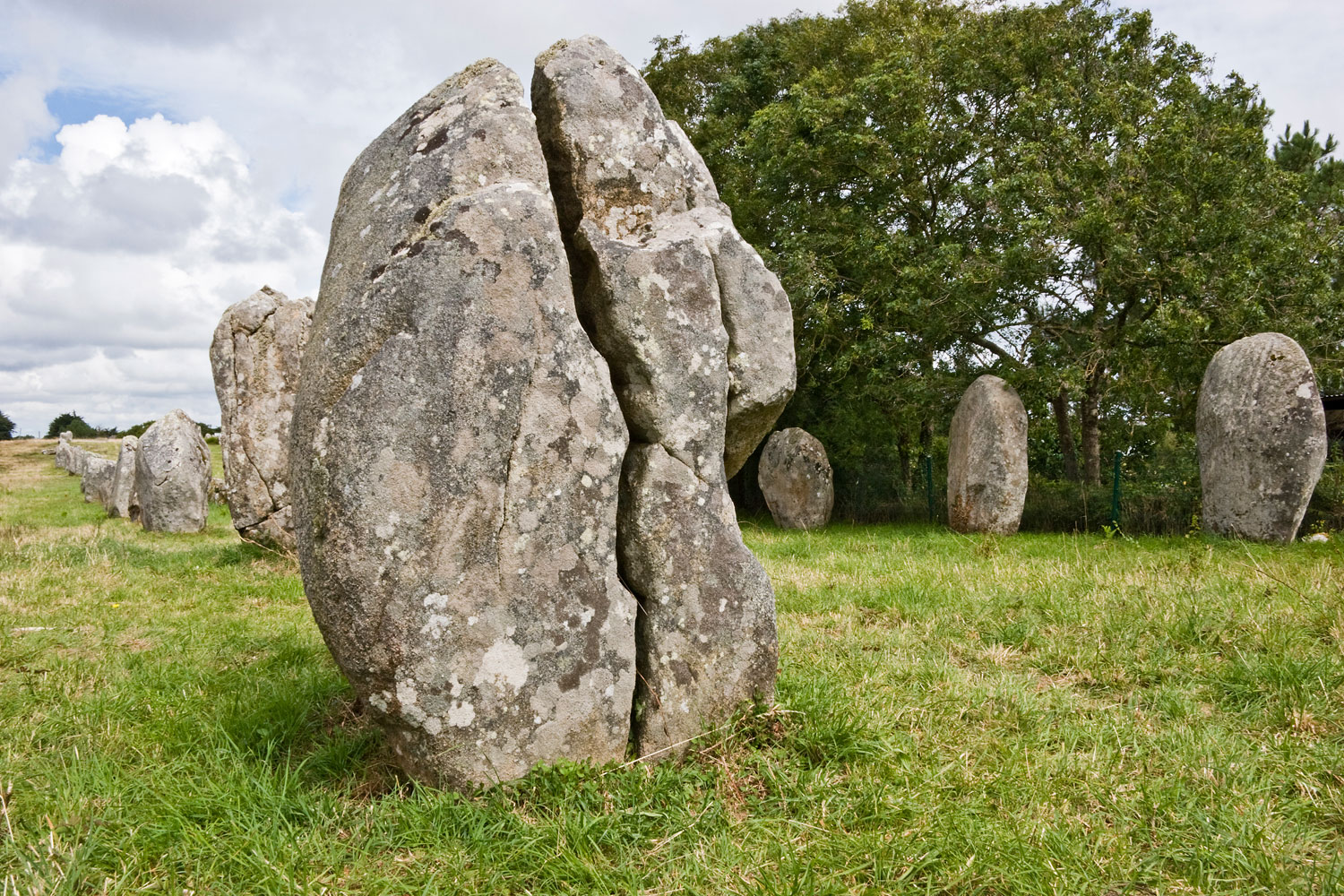 Standing Stones #2. Carnac, France