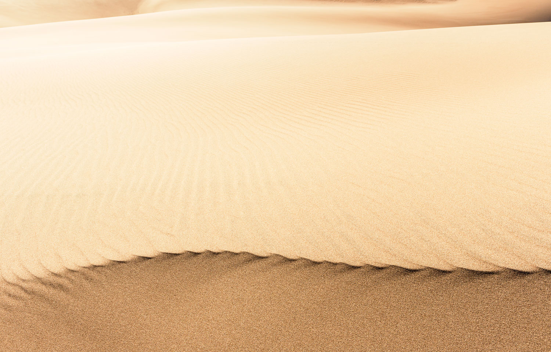 Curvature. Great Sand Dunes National Park, CO