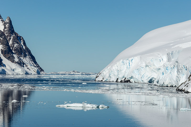 Icebergs. Lemaire Channel, Antarctica