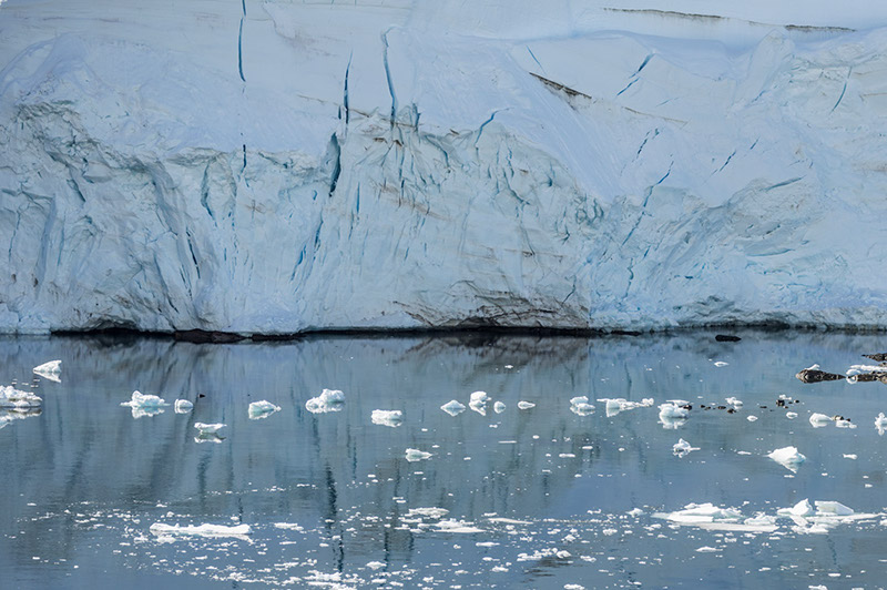 Glacial Reflections. Lemaire Channel, Antarctica