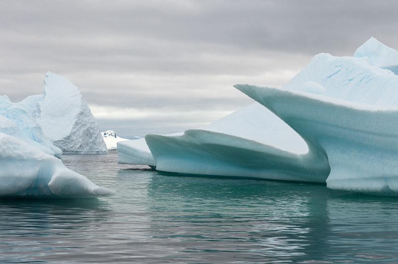 Icy Passage. Arctowski Peninsula, Antarctica