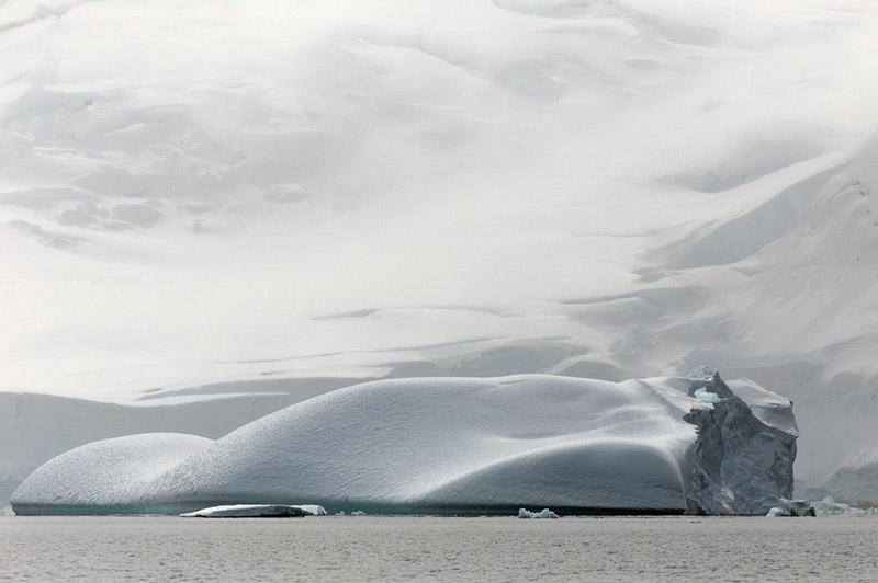 Iceberg at Rest. Dallmann Fjords, Antarctica
